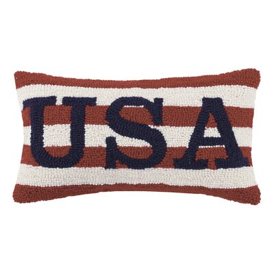 USA Wool Lumbar Pillow
