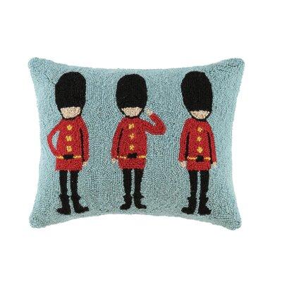Union Jack Hook Wool Lumbar Size: Royal Guard Trio