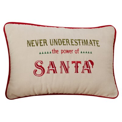 The Power of Santa Lumbar Pillow