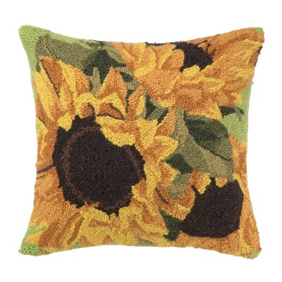 Sunflower Fields Throw Pillow