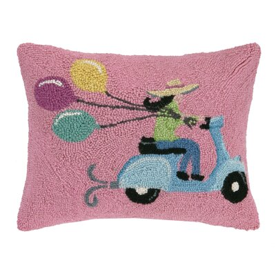 Scooter Girl Pillow