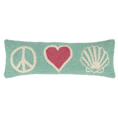 Anchor, Beach and Whale Hook Wool Lumbar Pillow
