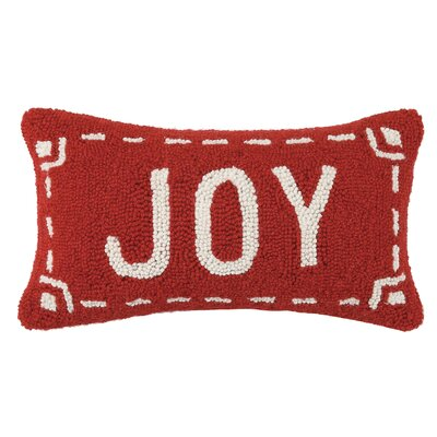 Fair Isle Joy Wool Throw Pillow