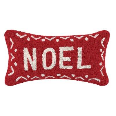 Fair Isle Noel Wool Throw Pillow