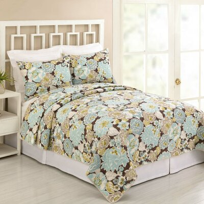 Kya 3 Piece Quilt Set Size: Full/Queen