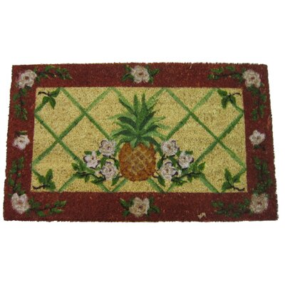 Pineapple Coir Doormat