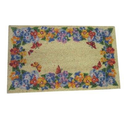 Pansy Coir Doormat