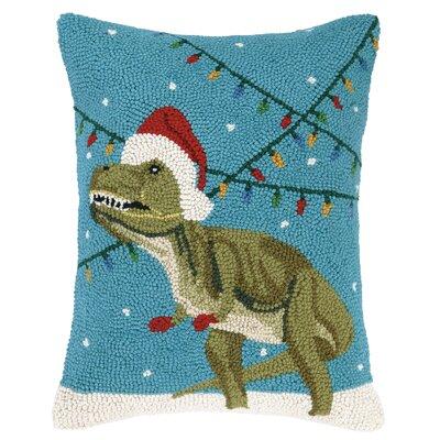 Holiday Kids Wool Throw Pillow