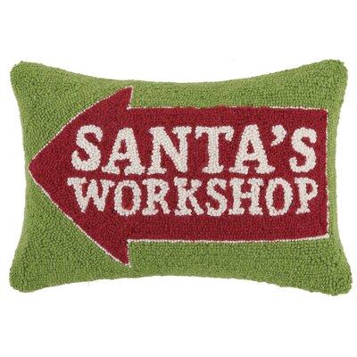 Holiday Wool Lumbar Pillow