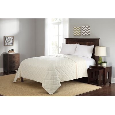 Sherpa Full/Queen Blanket Color: Ivory