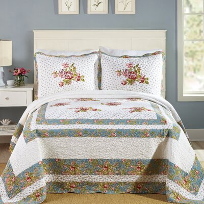 Modern Heirloom Loretta Bedspread Size: Full