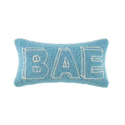 BAE Hook Wool Lumbar Pillow