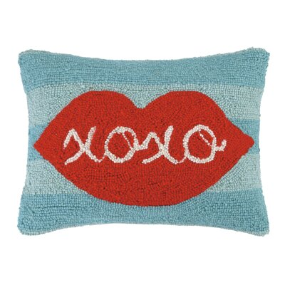 XOXO Hook Wool Lumbar Pillow