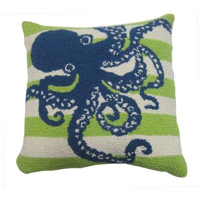 Octopus Hook Throw Pillow