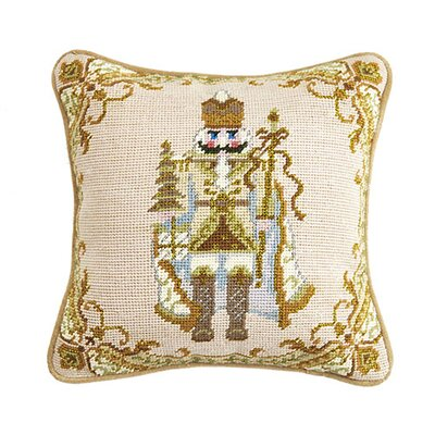 Nutcracker Wool Throw Pillow