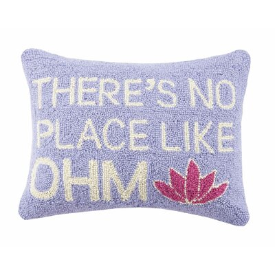 Theres No Place Like OHM Cotton Lumbar Pillow