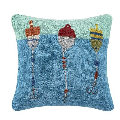 Bobbing Buoys 100% Cotton Throw Pillow