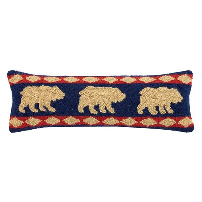 Bear Lodge 100% Cotton Lumbar Pillow