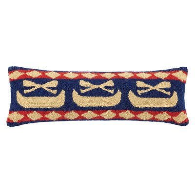 Canoe Lodge 100% Cotton Lumbar Pillow