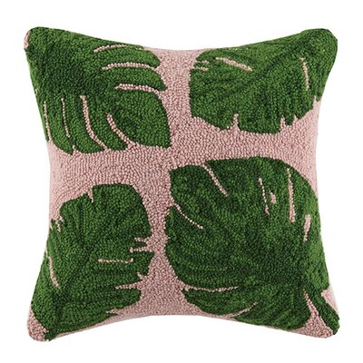 Banana Leaf 100% Cotton Throw Pillow