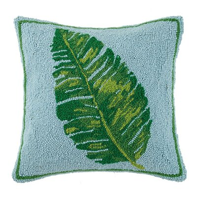 Palm Leaf 100% Cotton Throw Pillow