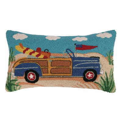 Woodie Convertible Hook Cotton Lumbar Pillow