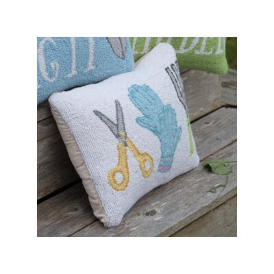 Gardening Tools Hello Garden Hook Lumbar Pillow