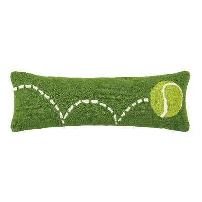 Bouncing Tennis Hook Wool Lumbar Pillow