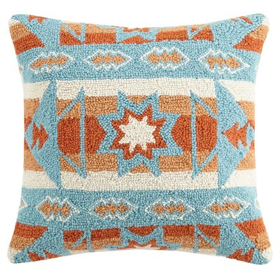 Triangle Kilim Wool Throw Pillow