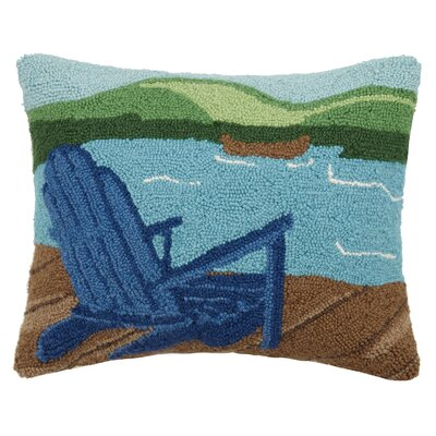 Lake Adirondack Wool Lumbar Pillow