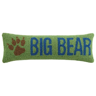 Big Bear Wool Lumbar Pillow