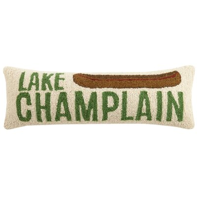 Lake Champlain Wool Lumbar Pillow