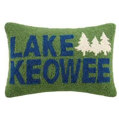 Lake Keowee Wool Lumbar Pillow