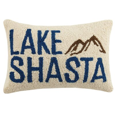 Lake Shasta Wool Lumbar Pillow