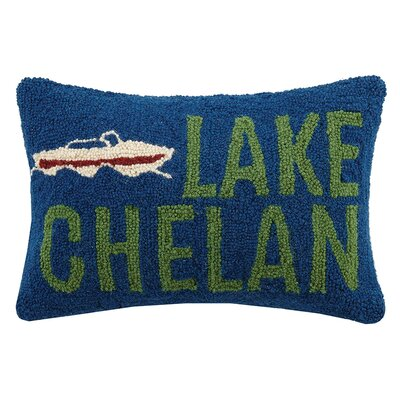 Lake Chelan Wool Lumbar Pillow