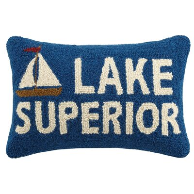 Lake Superior Wool Lumbar Pillow