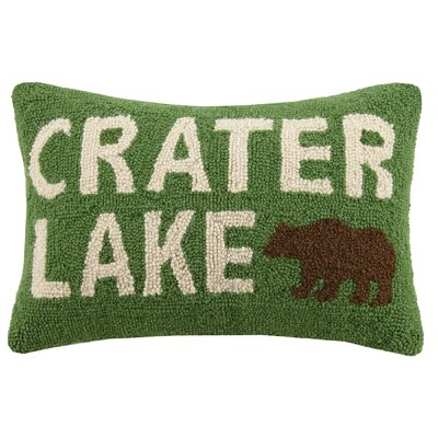 Crater Lake Wool Lumbar Pillow