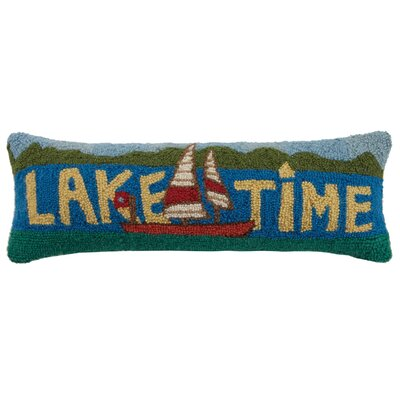 Lake Time Wool Lumbar Pillow