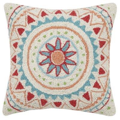 Mandala Wool Throw Pillow