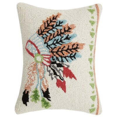 Headdress Pastel Wool Lumbar Pillow