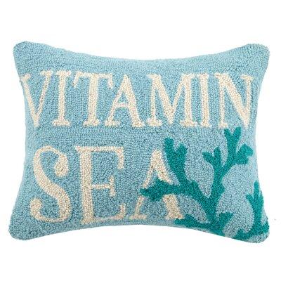 Vitamin Sea Wool Lumbar Pillow