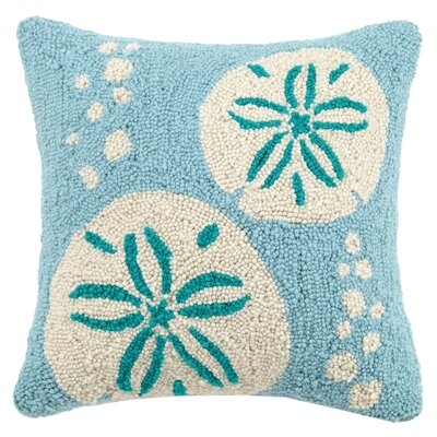 Sand Dollars Wool Throw Pillow
