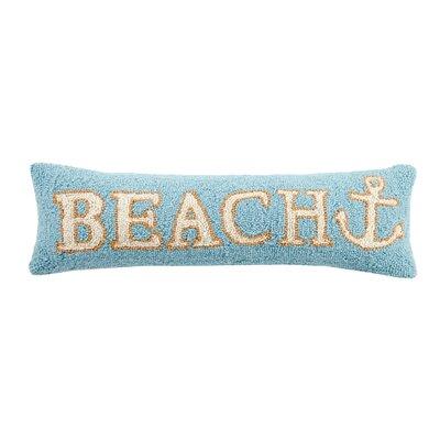 Beach Anchor Wool Lumbar Pillow