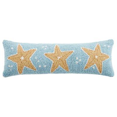 Starfish Trio Wool Lumbar Pillow