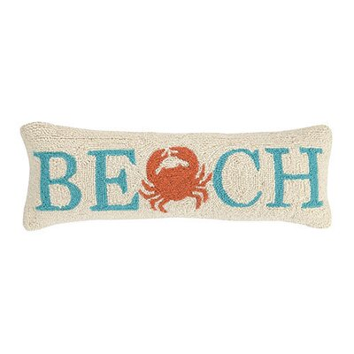Beach Wool Lumbar Pillow