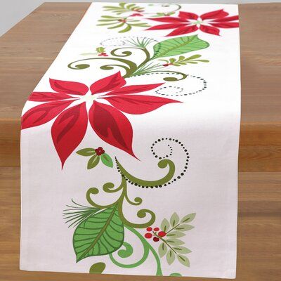 Poinsettia Tablecloth 08KS37C72OB