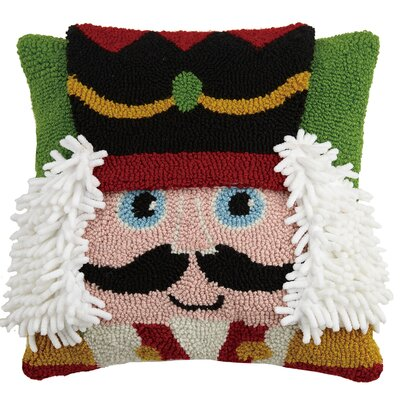 Nutcracker Hook Throw Pillow