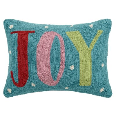Joy Hook Wool Lumbar Pillow