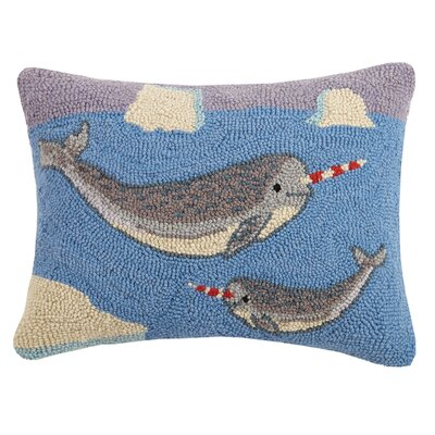 Narwhal Wool Lumbar Pillow