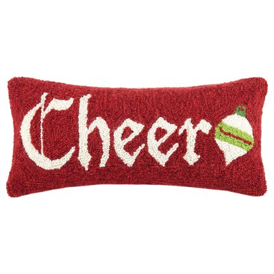 Cheer Hook Wool Lumbar Pillow
